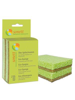 Rengøringssvamp miljøvenlig  Sonett