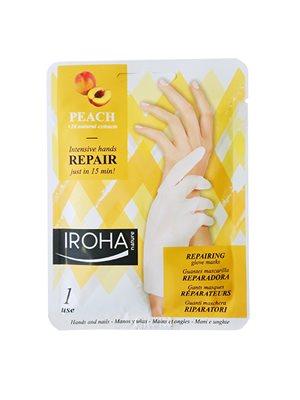 Repair hand mask peach Iroha