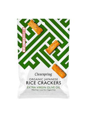 Rice Cracker Ø m. oliven olie