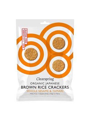 Rice Cracker sesame Ø