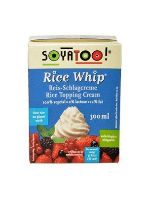 Riscreme - Rice whip  Til piskning som alternativt til piskefløde