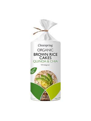 Risgaletter m. quinoa & chia Ø