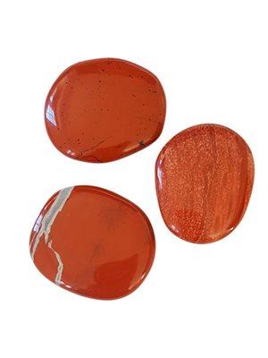 Rød Jaspis (poleret)