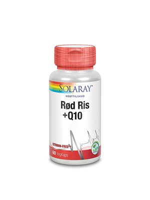 Rød ris & Q10