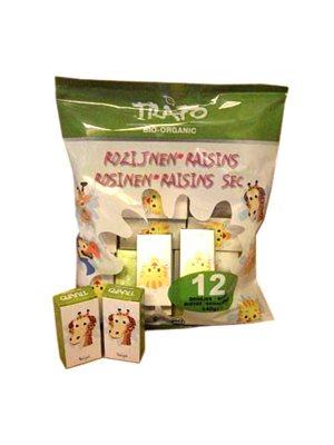 Rosiner i minipakker F Z  Organic Ø