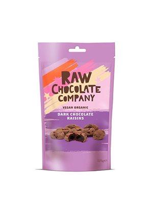 Rosiner m. rå chokolade Ø