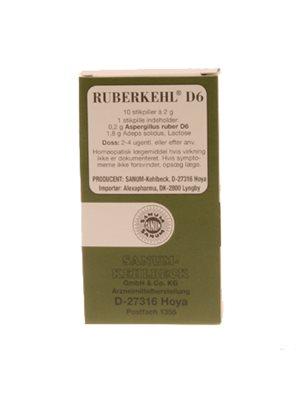 Ruberkehl D6 stikpiller
