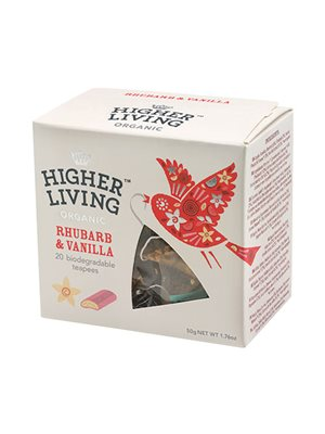 Ruhbarb & Vanilla te Ø  Higher Living