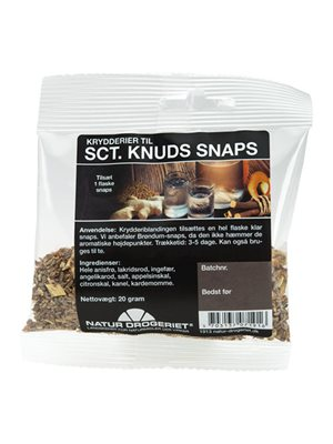 Sct. Knuds snaps  krydderiblanding