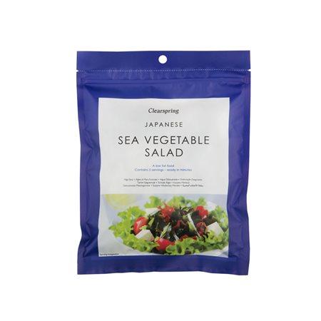 Sea Vegetable Salad Wakame, agar & aka tsunomat