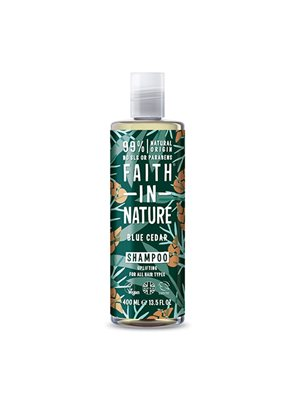 Shampoo Blue Cedar mænd Faith in nature
