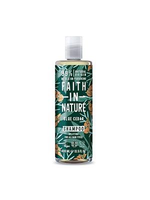Shampoo Blue Cedar mænd Faith in nature