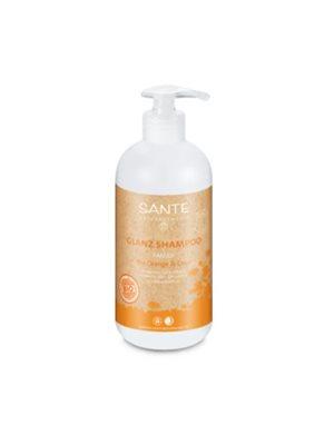Shampoo organic gloss  orange & coconut Sante
