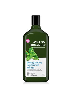 Shampoo Peppermint Strengthening Avalon Orgnics