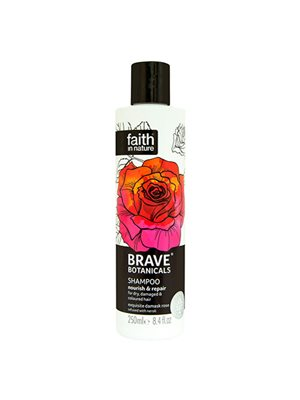 Shampoo rose & neroli - Brave Botanicals Nourish & Repair