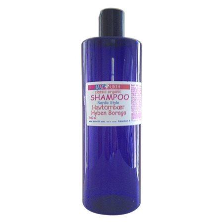 Shampoo sart tørt hår mild m. Havtorn Hypen Baorago MacUrt