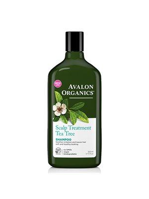 Shampoo Tea Tree Scalp  Treatment Avalon Organics