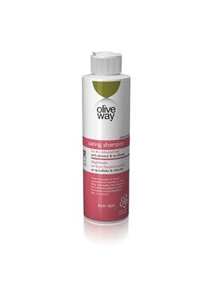 Shampoo til tørt og farvet hår Olive Way
