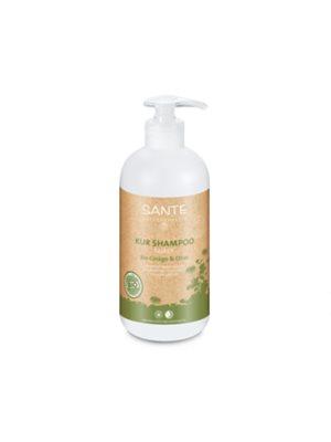 Shampoo treatment organic  ginkgo & olive Sante