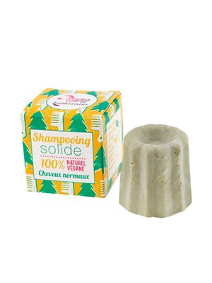 Shampoobar til normalt hår  m. grøn ler og fyrrenåle