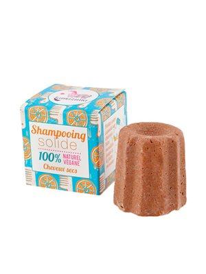 Shampoobar til tørt hår  med kokosolie og orange peel oil