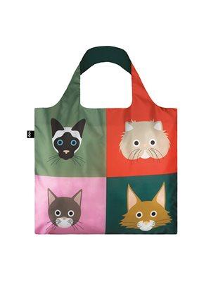 Shopper Loqi - Cats Bag Øko-Tex Certificeret