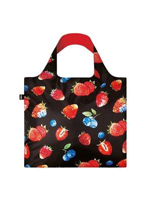 Shopper Loqi Juicy Strawberry Øko-Tex certificeret