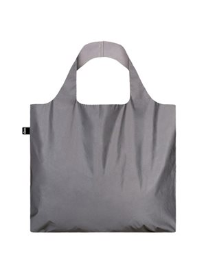 Shopper Loqi - Silver Bag Øko-Tex Certificeret