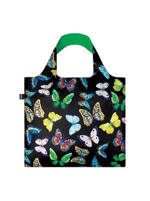 Shopper Loqi Wild Butterflies Øko-Tex certificeret