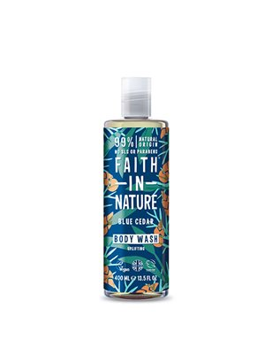 Showergel Blue Cedar mænd Faith in nature
