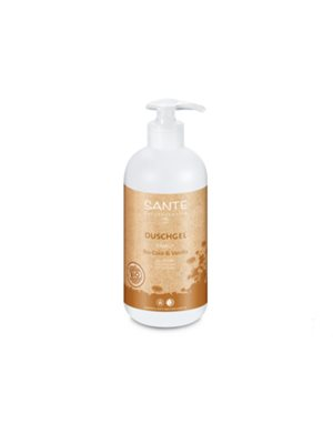 Showergel organic coconut &  vanilla Sante