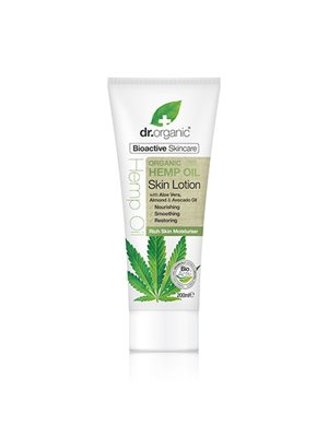 Skin lotion hemp oil