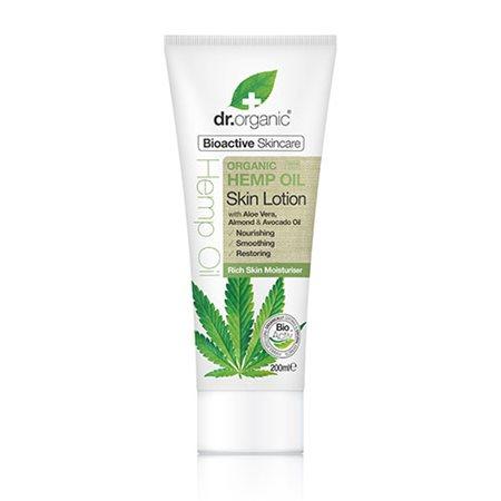 Skin lotion hemp oil