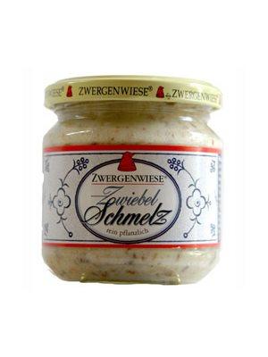 Smørepålæg krydderfedt m.  løg streich Ø  Zwergenwiese
