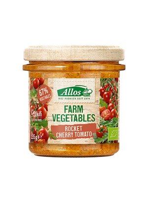 Smørepålæg Ø Rucola & Cherry tomat Farm Vegetables Allos