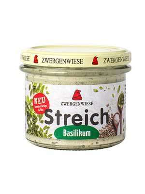 Smørepålæg Ø Streich m. basilikum