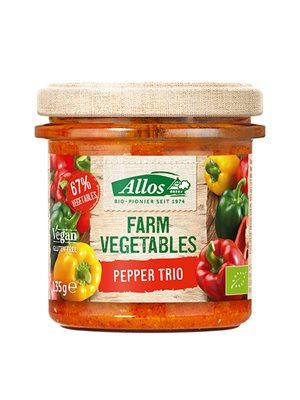 Smørepålæg Paprika Trio Ø Farm Vegetables Allos