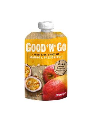 Smoothie frugt og havre m. mango glutenfri