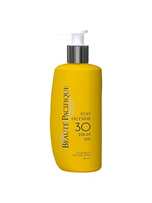 Solcreme Stay Outside 30 SPF til hele kroppen Beaute Pacifique