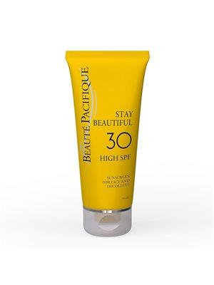 Solcreme til ansigtet 30 SPF Stay Beautiful Beauté Pacifique