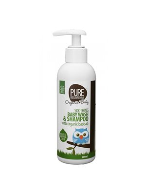 Soothing baby wash & shampoo Pure Beginnings