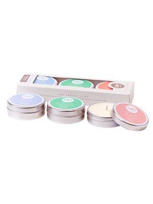 Soya duftlys gaveæske 3 stk med duft