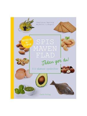 Spis maven flad bog  Forfatter: Charlotte Hartvig, Majbritt