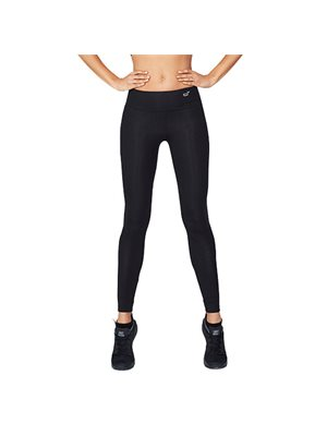Sports tights Dame sort str.  XS