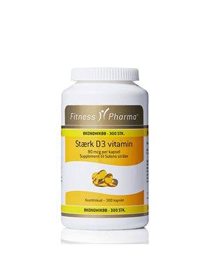 Stærk D3 vitamin  Fitness Pharma