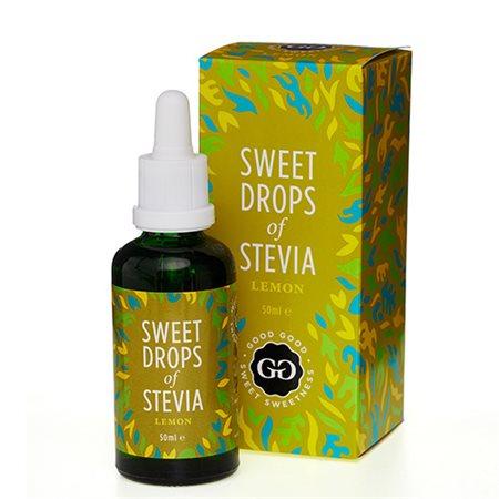 Stevia Dråber citron Sweet Drops of Stevia Lemon
