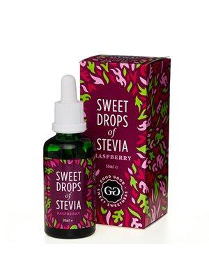 Stevia Dråber hindbær Sweet Drops of Stevia