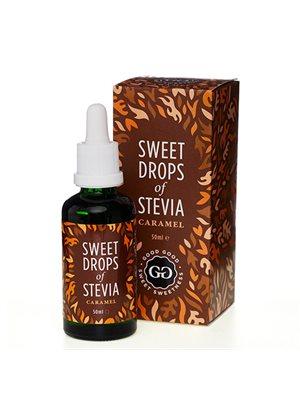 Stevia Dråber karamel Sweet Drops of Stevia