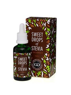 Stevia Dråber kokos Sweet Drops of Stevia kokosnøddesmag