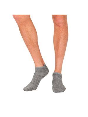 Strømper Herre grå str. 39-45  Low cut/sneaker
